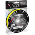 Плетеный шнур Mikado X-PLODE 0,18 yellow (150 м) - 18.35 кг.