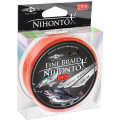 Плетеный шнур Mikado NIHONTO FINE 0,16 orange (100 м) - 12.50 кг.